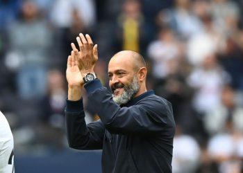 Pelatih Tottenham Hotspur, Nuno Espirito Santo.