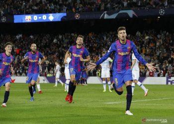 Tekuk Kiev 1-0, Barca raih kemenangan pertama di Liga Champions