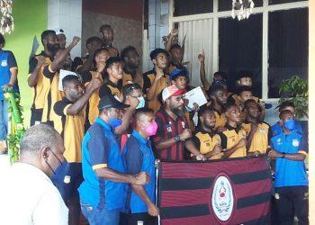 Tiga pemain tim sepak bola PON Papua diminati klub Thailand